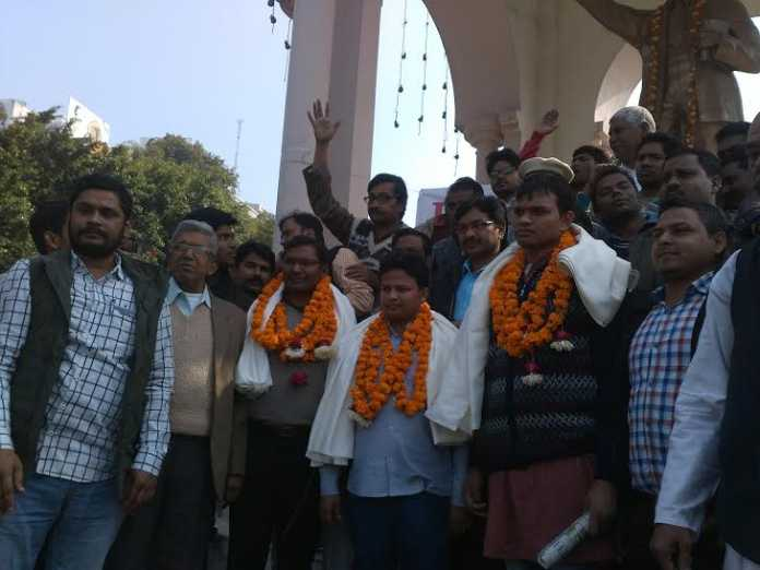 He was opposed to the Dalit students would then be upset big movement: the release platform