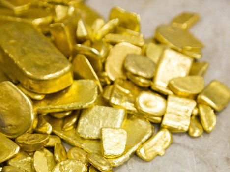 The unique style of gold smuggling still detained