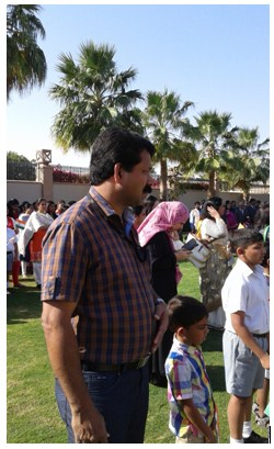 Indian community attended the Republic Day celebrations in Muscat.