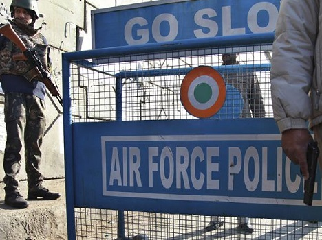 Only one employee was stationed at Air Force Station Pathankot help terrorists