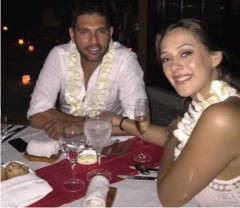Yuvraj to bat at No raging fiancee Hazel, Spoke first cricket fans Learn