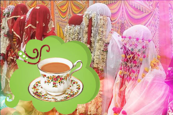 no dowry in nikah only tea
