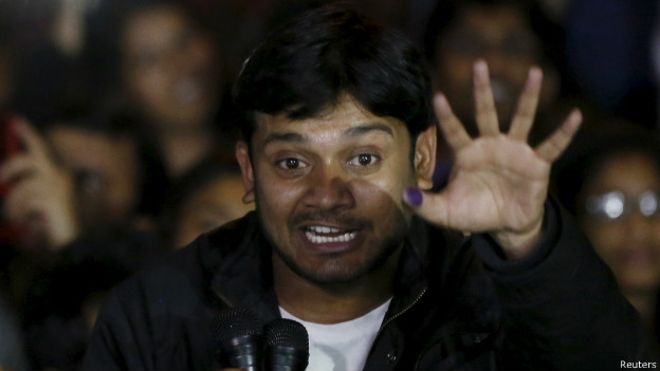 How Kanhaiya fade out the PM's speech