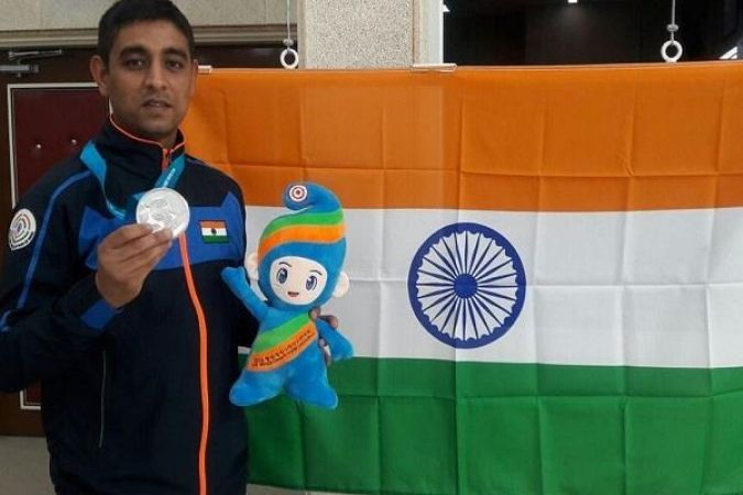 shahzaar rizvi won the first medal in issf world cup 5adedf62e0c76